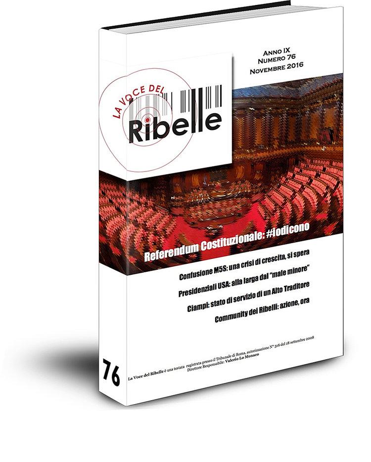 Il Ribelle torna in formato cartaceo