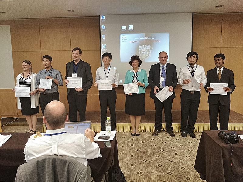 istvs_seoul2014-kim_recipientsofbestpapers.jpg