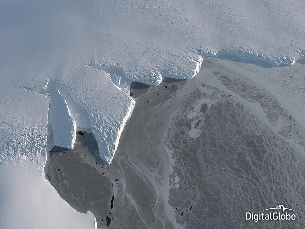 Nordenskjold Basin, Antarctica, March 12