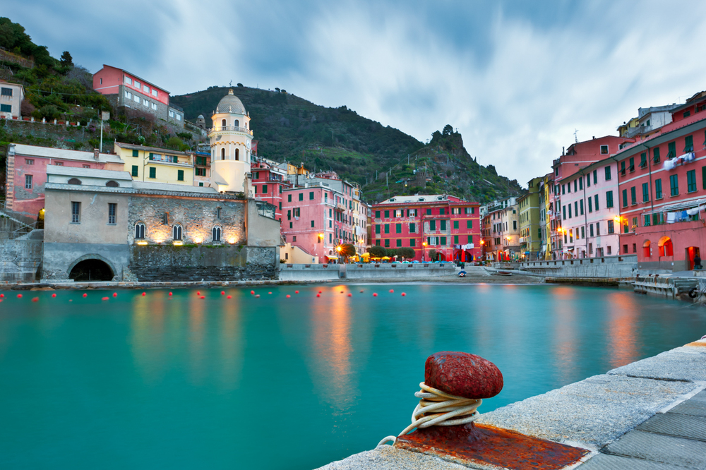 Vernazza at Dusk