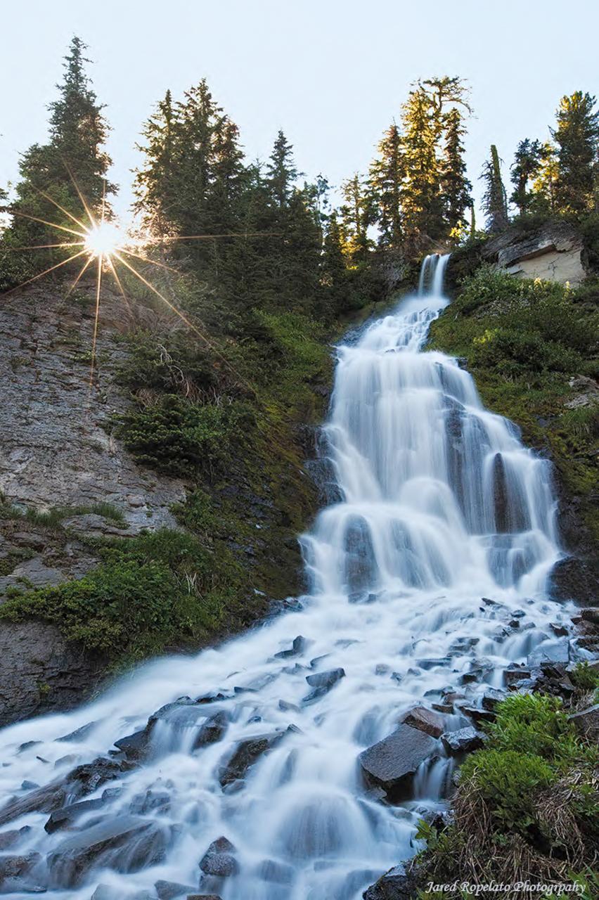 Crater Lake Falls