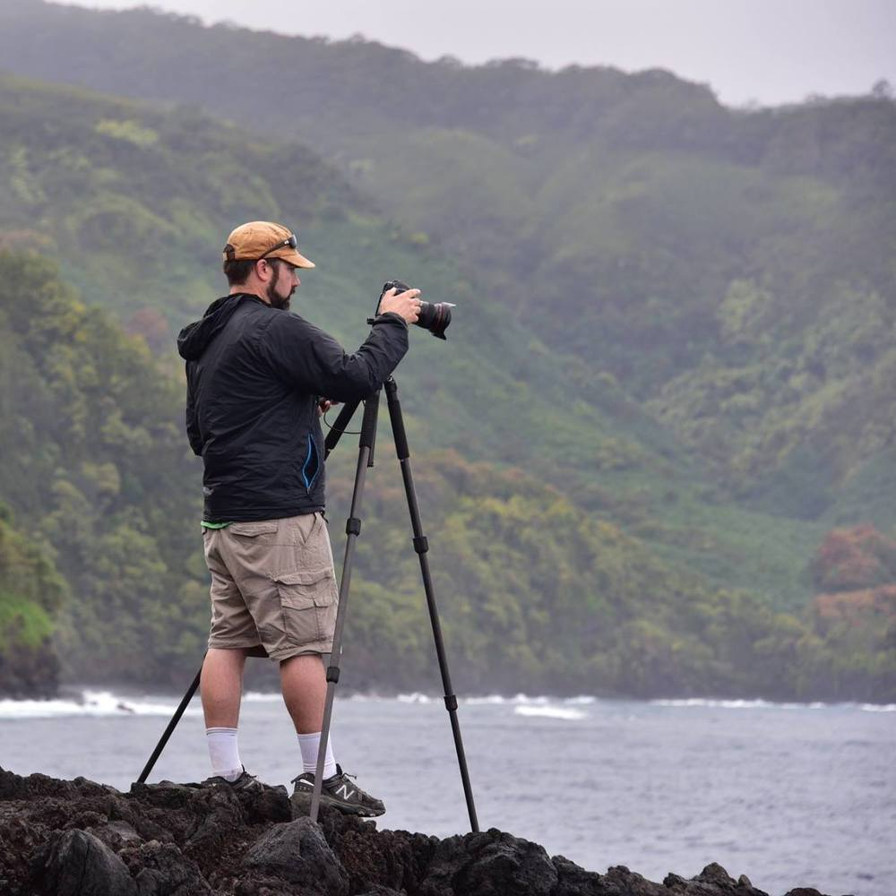 Photographing Maui