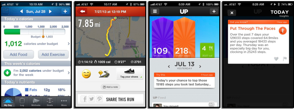 A number of iPhone apps helped me achieve my health goals.