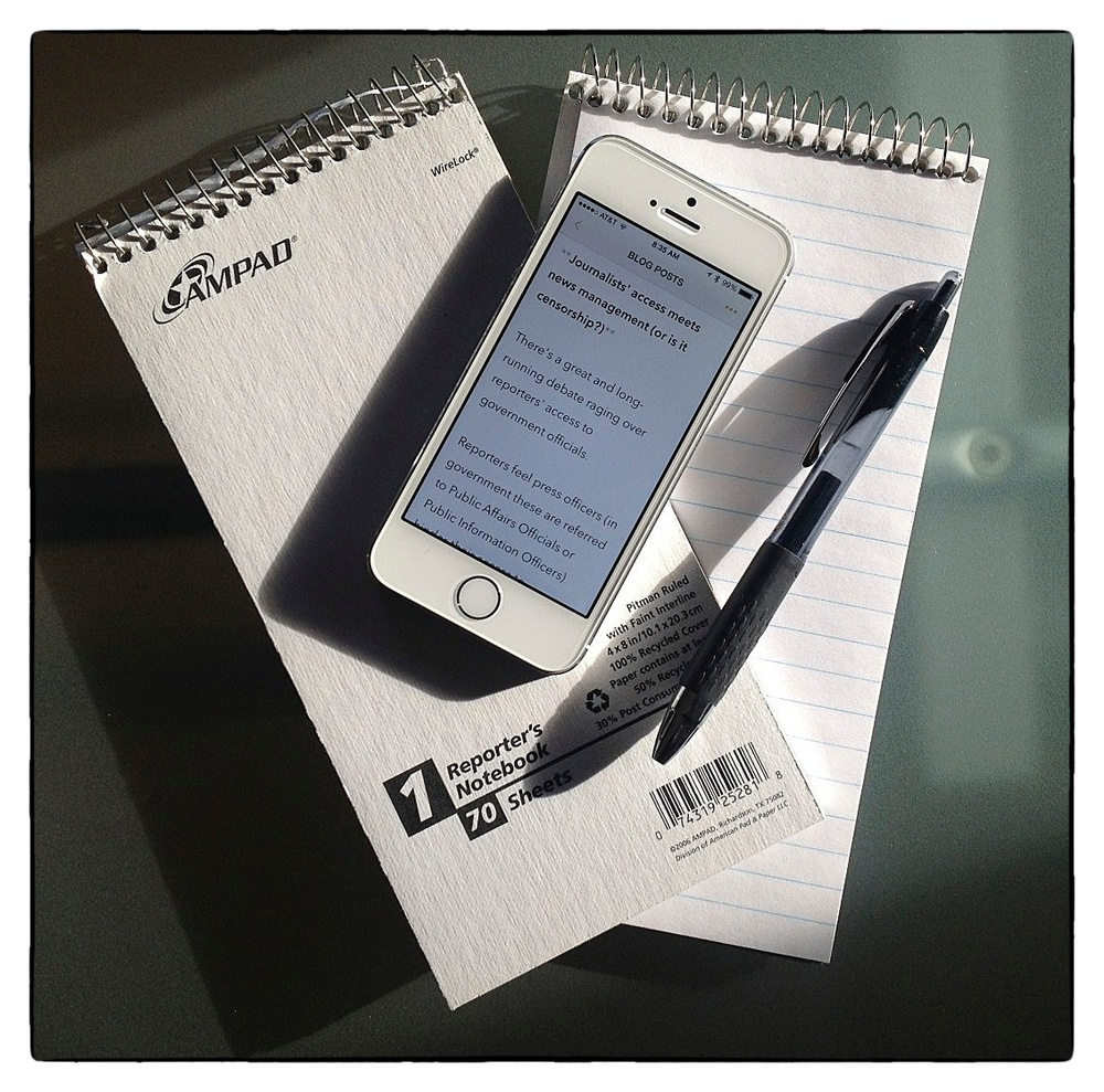 """Tools of the """"corporate journalists'"""" trade."""