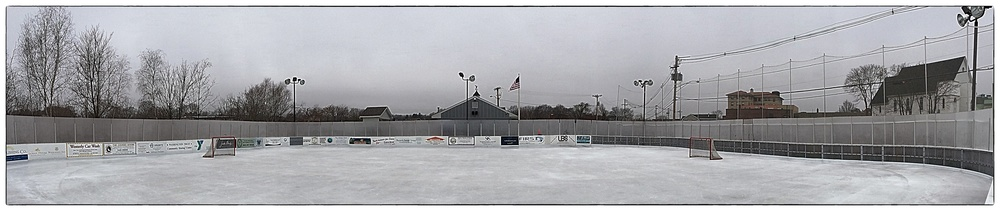 Washington Trust Community Skating Rink  in Westerly, R.I., shot before an afternoon hockey workout on January 16, 2014.