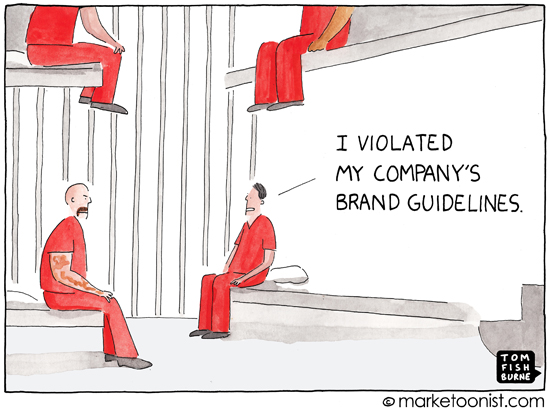 Image Source:  Tom Fishburne's Marketoonist