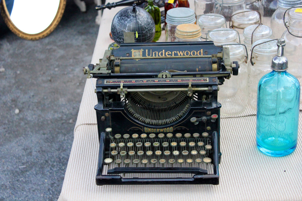 Underwood Typewriter by chrisoakley, used under creative commons license.