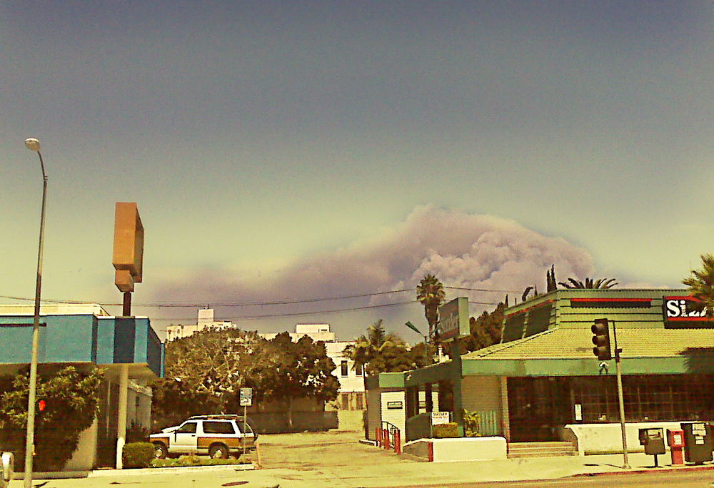 Los Angeles Wildfires, by Karen,  used under CC license