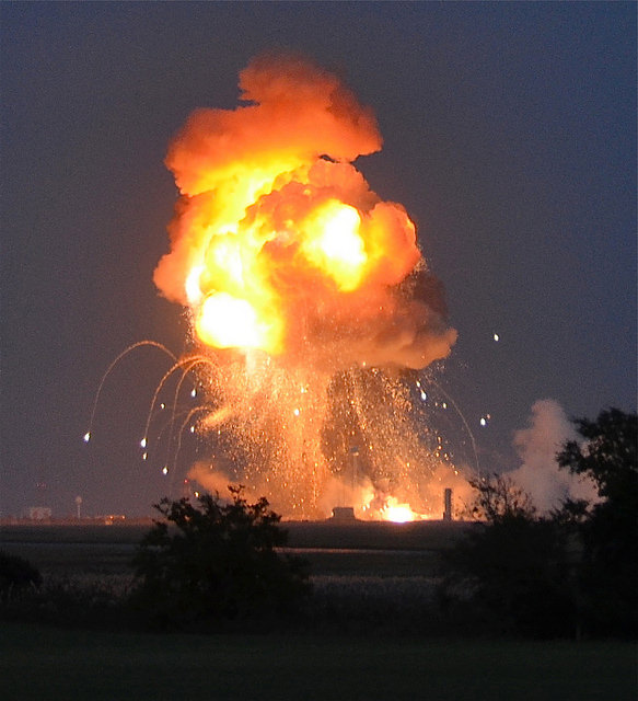 Explosion by  Steve Jurvetson  used under CC license