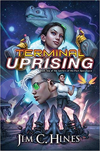 Terminal Uprising, available Feb 12th from all fine  booksellers