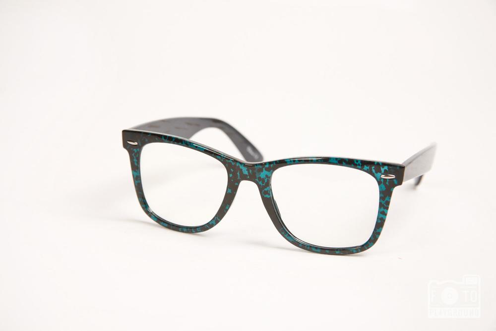 vintage-style glasses