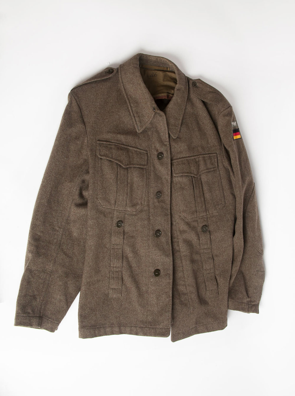 wool soldier jacket