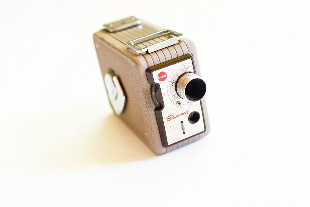 vintage brownie 8mm camera