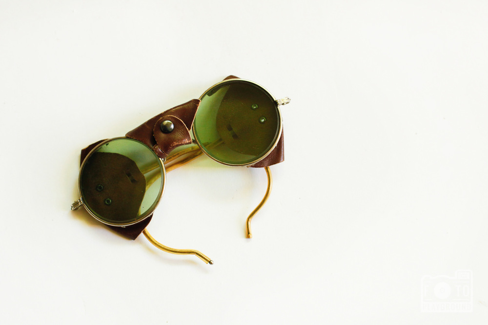 vintage aviator glasses