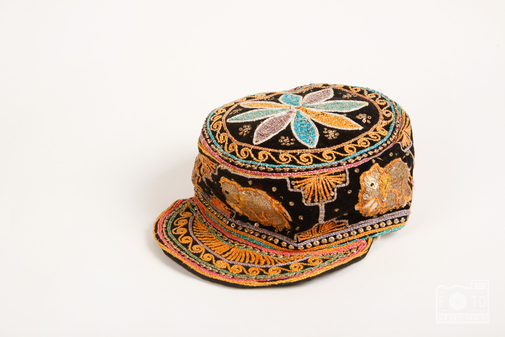 Indian elephant cap