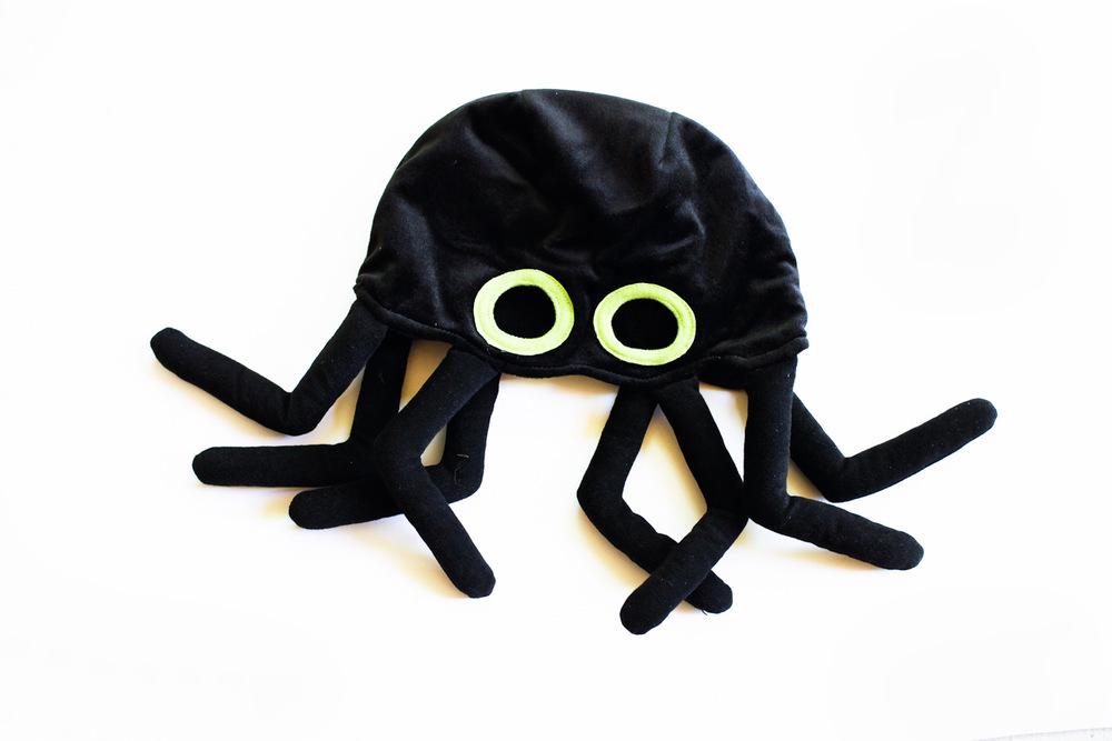 spide / octopus hat mask