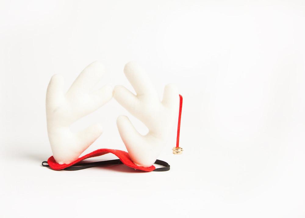 reindeer horns