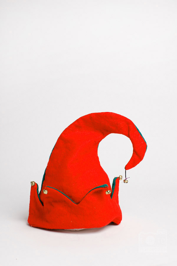 red jester hat