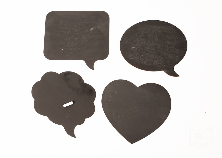 chalkboard speech bubbles