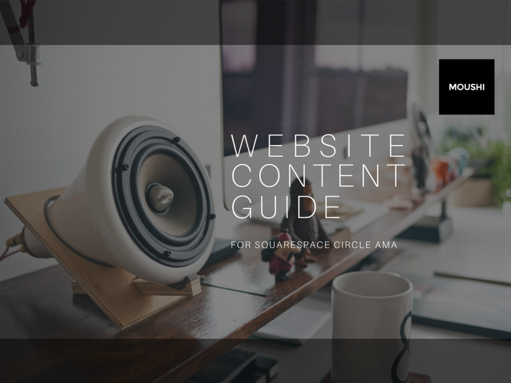 This  Website Content Guide  helps develop a strong content platform for use on the web and can serve as a foundation for content in sales, marketing and customer service.