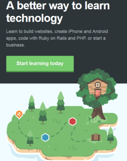 Treehouse.com - Start learning to code...