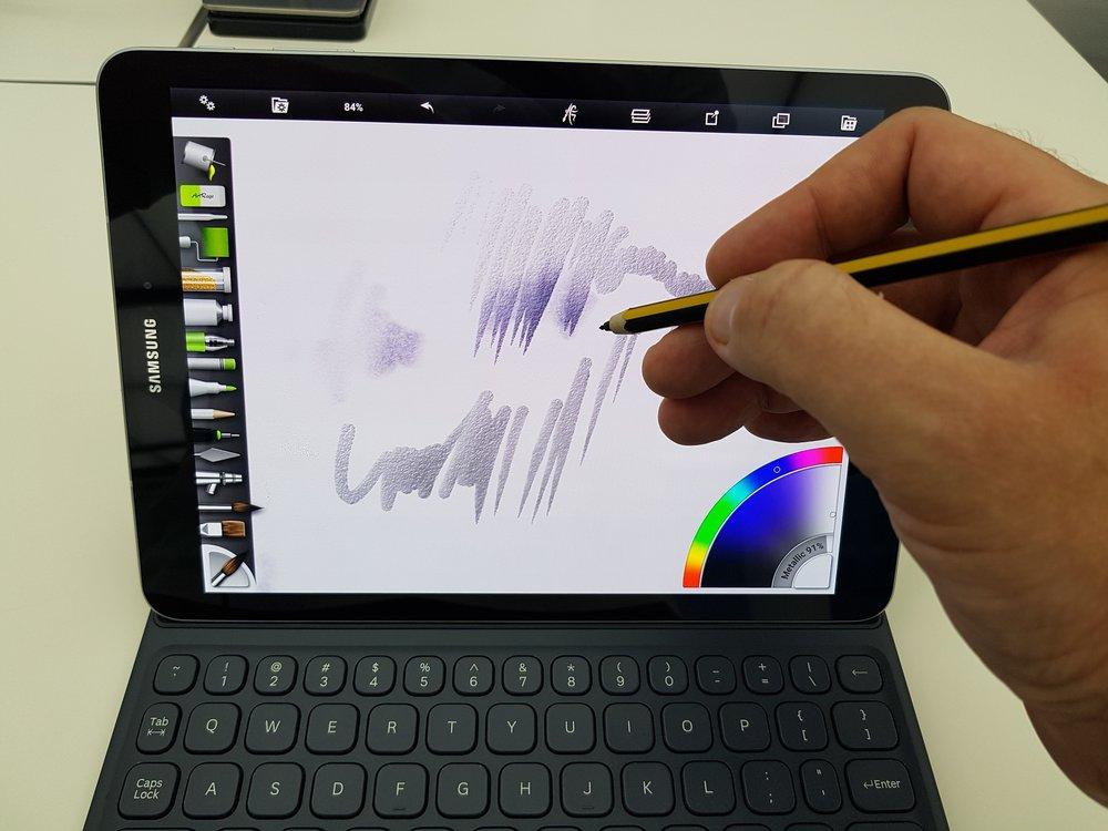 Staedtler Digital Norris S Pen - the nib is horrendous for junior school use.