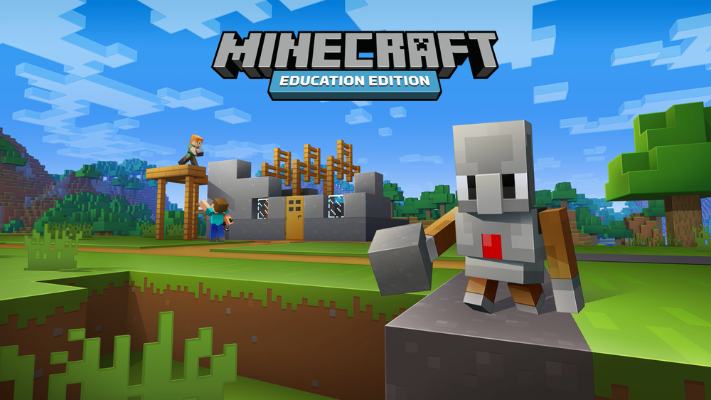 Minecraft: Education Edition with an Agent.