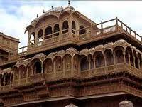Jaisalmer, inspiration for Redd's house.