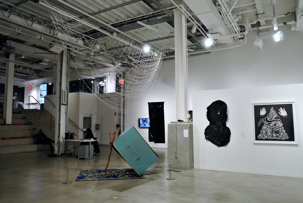 Installed at the  BRIC Biennial  at BRIC House, Brooklyn, NY  November 2016 - January 2017