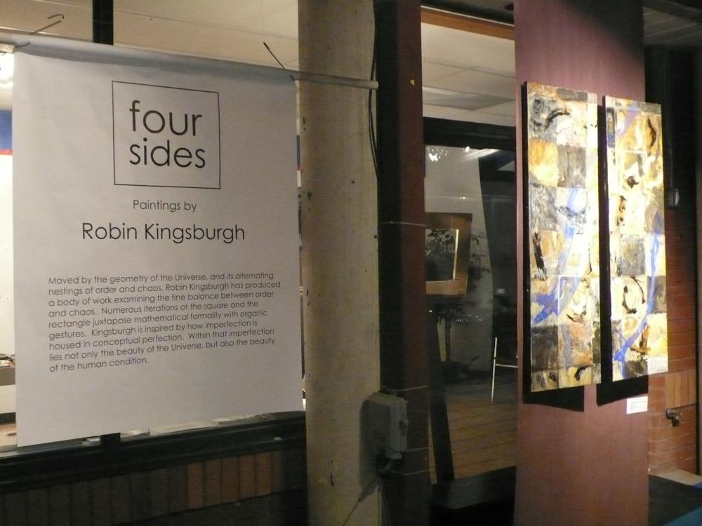 four sides solo show