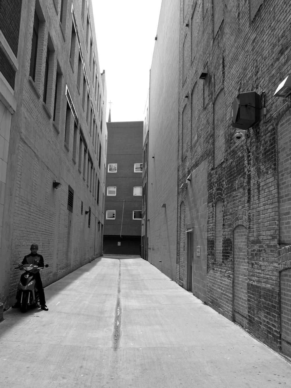 Alley, Minneapolis, 2012