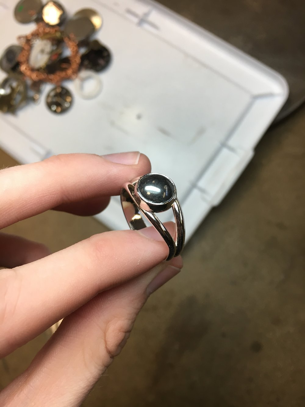 My second ring came out much cleaner!