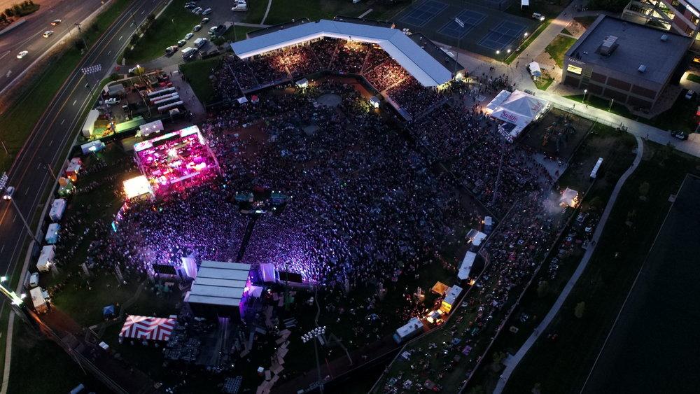 2017 Festival Drone Shot