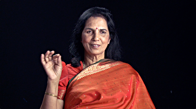 Dr. Suniti Solomon, pioneering scientist and founder of YRG Care, India's foremost HIV/AIDS clinic.