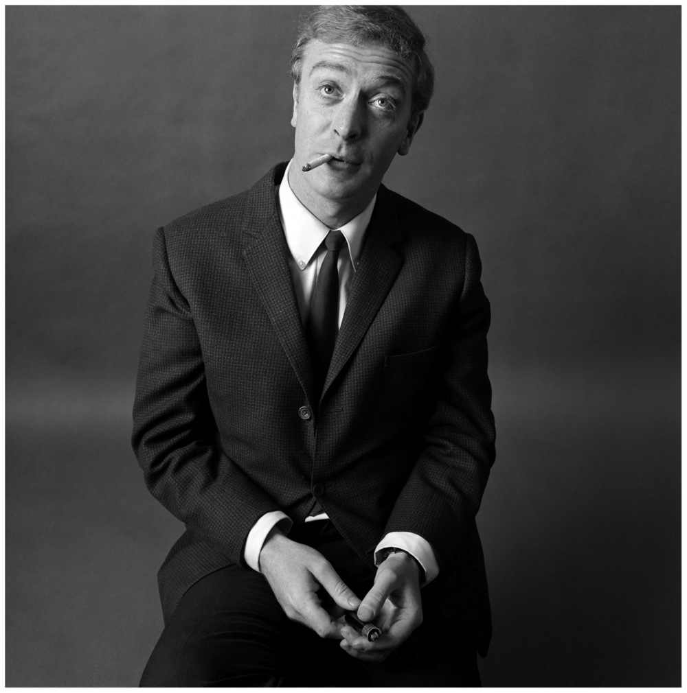 Brian Duffy Michael Caine 1964