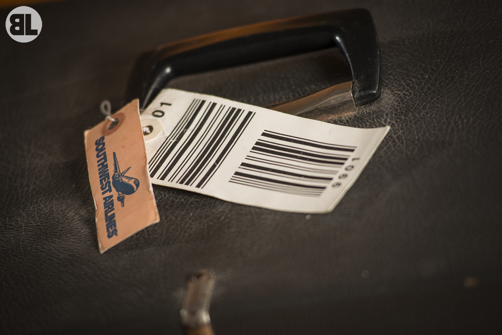 Old Baggage Tag