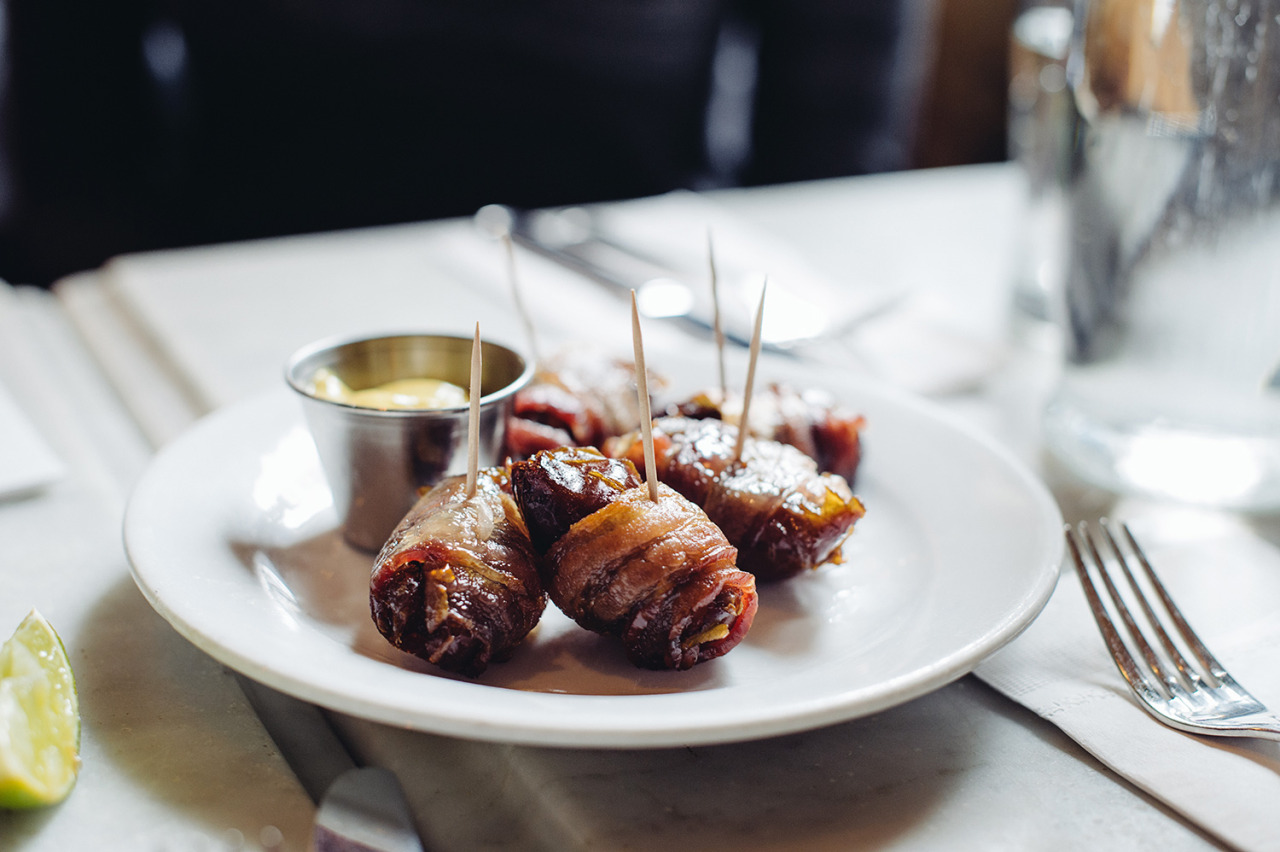 brunch: bacon wrapped dates