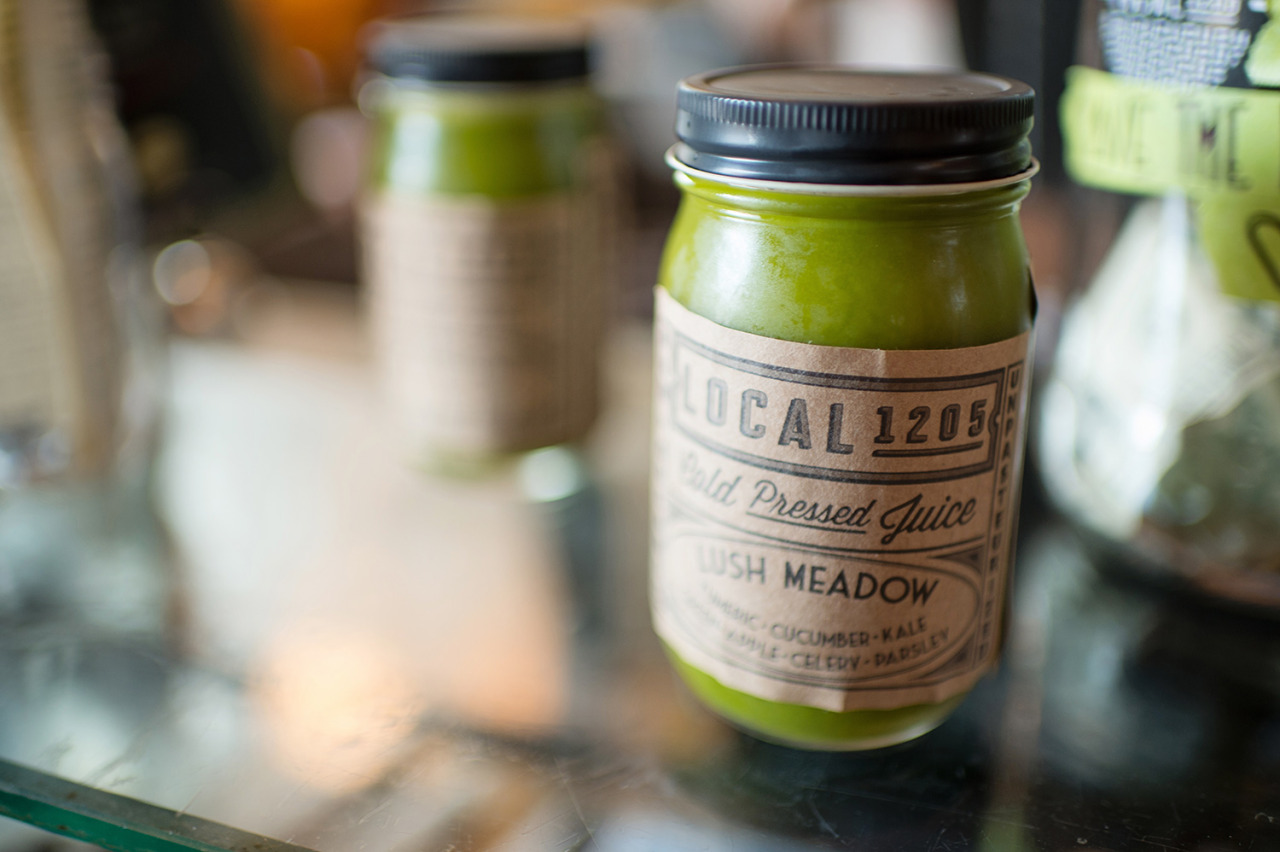 green juice: local 1205