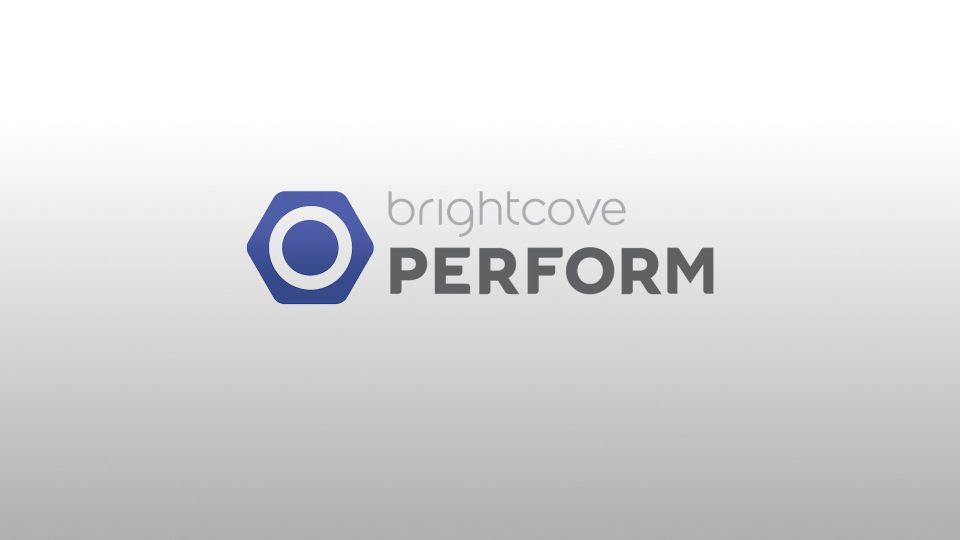 Brightcove Perform