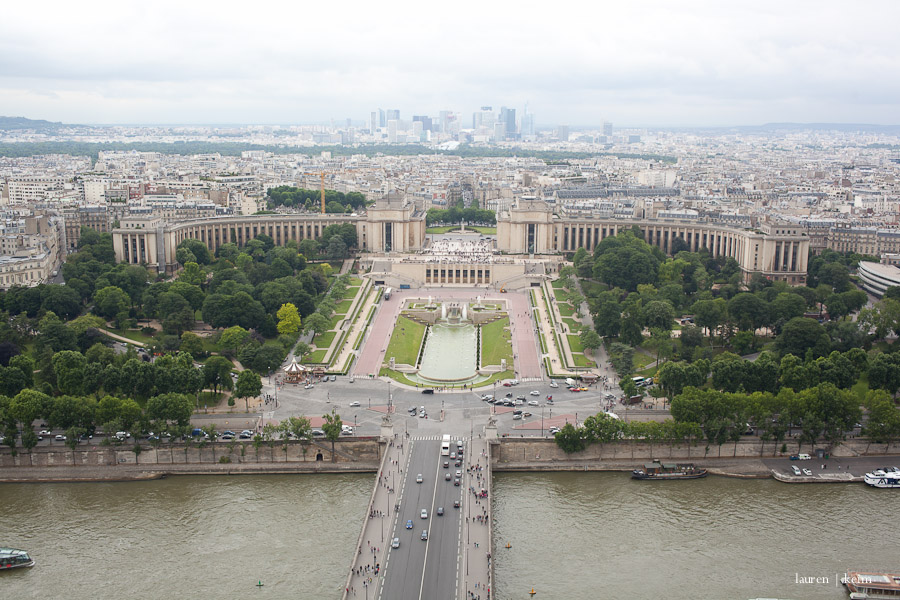 Trocadero from the Tower