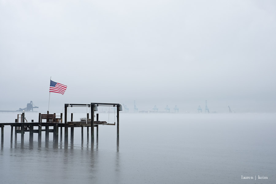 January 12 . Fog Day | Fuji X-E2, 35mm