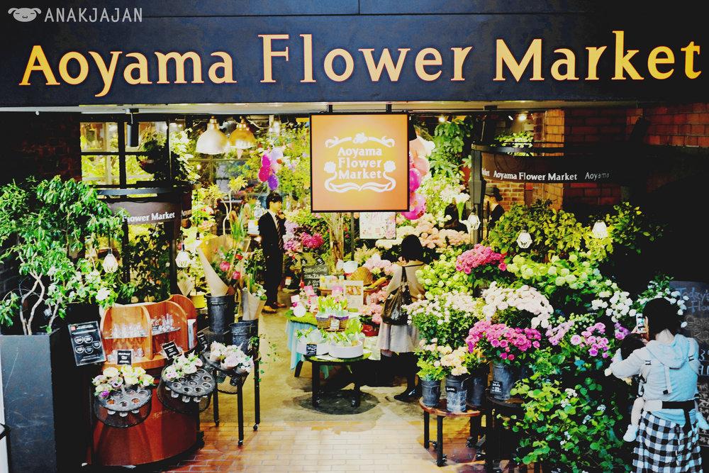 Aoyama Flower Market (Photo credit to  anakjajan.com )