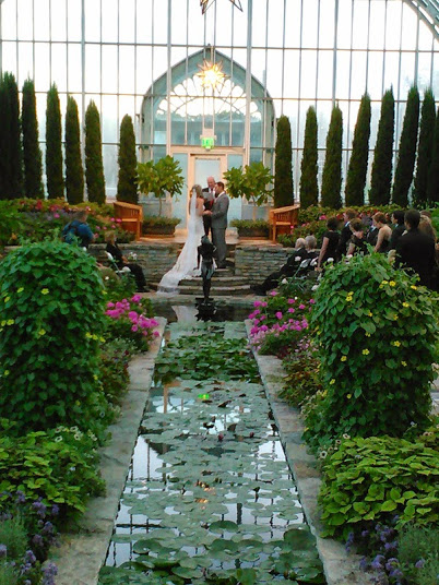 Wedding Ceremony at Como Conservatory