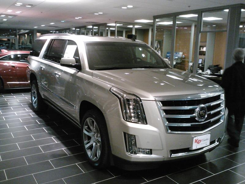 Key Cadillac Escalade ESV 2015