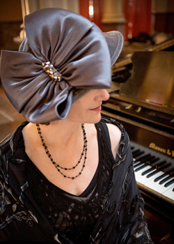Lady Sharon Planer, Royal Event Pianist Photo:  http://www.grinkiegirls.com/