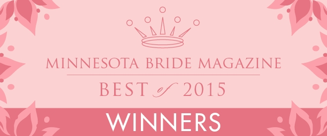 Minnesota Bride Magazine Best of 2015 Winners