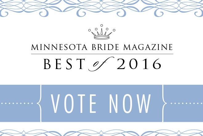 VOTE at Minnesota Bride 'Best of 2016'