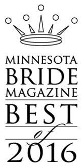 Winner of Best Ceremony Music 2016 MN BRIDE Magazine