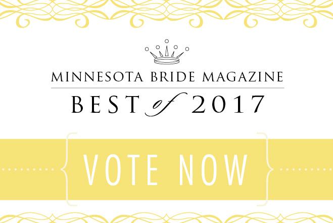 Minnesota Bride Magazine Best of 2017 voting