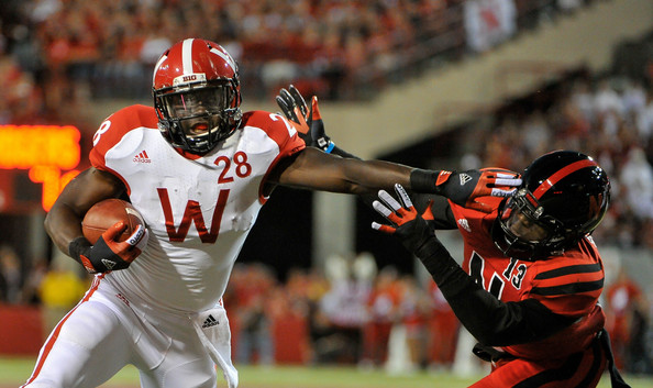 Montee Ball has been asked to shoulder a disproportionate amount of the offensive load this year as the coaching staff looks to remedy the Badgers' offensive woes.